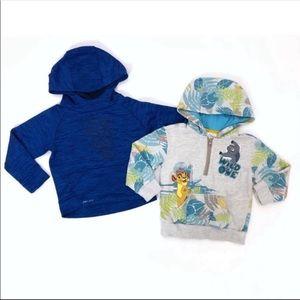 Nike Disney Bundle 3T Hoodies Pullover Zip Lion